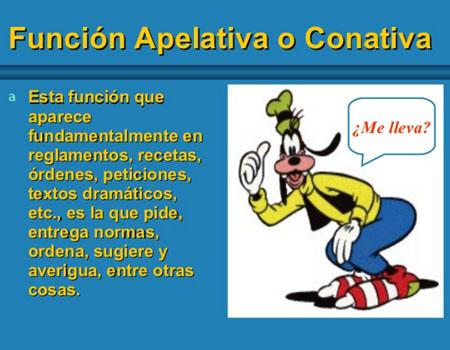 10 Ejemplos De Funcion Apelativa O Conativa Y Definicion Yavendras