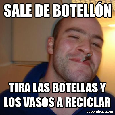 SALE DE BOTELLÓN