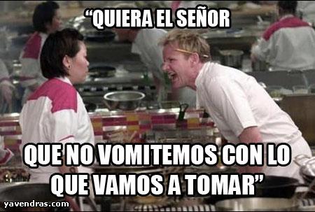 Pesadilla En La Cocina On Ramsay   10 Memes De Chef Gordon Ramsay Yavendras