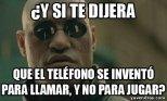 Y SI TE DIJERA QUE EL TEL�FONO...