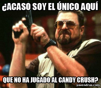VIRGEN EN CANDY CRUSH